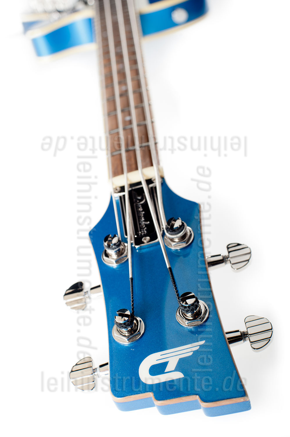 zur Artikelbeschreibung / Preis E-Bass - DUESENBERG STARPLAYER BASS - MIKE CAMPBELL LTD + Custom Line Case