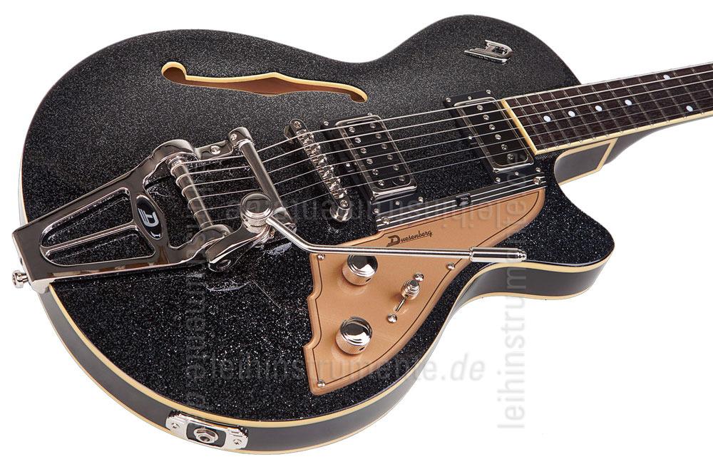 E Gitarre Duesenberg Starplayer Tv Black Sparkle