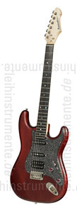zur Detailansicht E-Gitarre BERSTECHER Deluxe 2018 - Black Cherry / Black Sparkle + Koffer - made in Germany