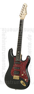 zur Detailansicht E-Gitarre BERSTECHER Vintage 2018 - Black / Floral Red + Koffer - made in Germany