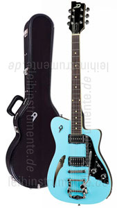 e gitarre duesenberg caribou narvik blue tremolo. Black Bedroom Furniture Sets. Home Design Ideas