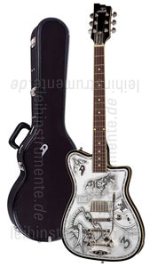 zur Detailansicht E-Gitarre DUESENBERG JOHNNY DEPP Alliance Series - Black - Tremolo + Custom Line Case