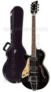 zur Detailansicht E-Gitarre DUESENBERG STARPLAYER TV - BLACK - Linkshänder Version + Custom Line Case