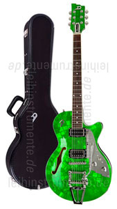 zur Detailansicht E-Gitarre DUESENBERG STARPLAYER TV - Emerald Green LTD (Mother of Pearl) (2016) + Custom Line Case