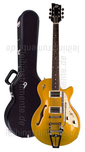 zur Detailansicht E-Gitarre DUESENBERG STARPLAYER TV - Gold Top (2016) + Custom Line Case
