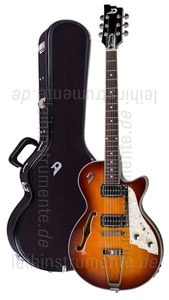 zur Detailansicht E-Gitarre DUESENBERG STARPLAYER TV HOLLOW Series - Vintage Burst + Custom Line Case