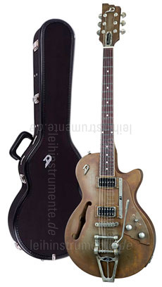 e gitarre duesenberg starplayer tv custom shop rusty. Black Bedroom Furniture Sets. Home Design Ideas