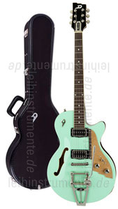 zur Detailansicht E-Gitarre DUESENBERG STARPLAYER TV - SURF GREEN (2016) + Custom Line Case
