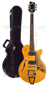 zur Detailansicht E-Gitarre DUESENBERG STARPLAYER TV - Trans-Orange + Custom Line Case