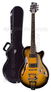 e gitarre duesenberg starplayer tv two tone sunburst. Black Bedroom Furniture Sets. Home Design Ideas
