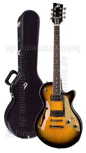 zur Detailansicht E-Gitarre DUESENBERG STARPLAYER TV - Two Tone Sunburst - Stop Tailpiece + Custom Line Case