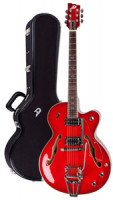 E-Gitarre DUESENBERG IMPERIAL - Red Burst (2014) + Custom Line Case