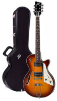 E-Gitarre DUESENBERG STARPLAYER TV HOLLOW Series - Vintage Burst + Custom Line Case