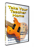 E-Gitarrenanfängerkurs TAKE YOUR TEACHER HOME - For Absolute Beginners - PC CD-ROM