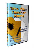 Gitarrenanfängerkurs TAKE YOUR TEACHER HOME - For Absolute Beginners - PC CD-ROM