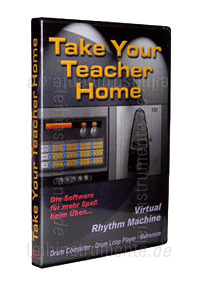 zur Detailansicht Beatsoftware TAKE YOUR TEACHER HOME - Virtual Rhythm Machine - PC CD-ROM