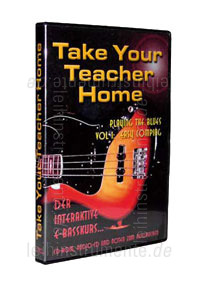 zur Detailansicht E-Basskurs TAKE YOUR TEACHER HOME - Playing the blues Vol1: Easy Comping - PC CD-ROM